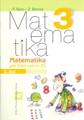 Matematika 3 - Pracovný zošit  1. diel pre ZŠ