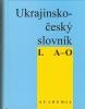 Ukrajinsko-český slovník I. A-O, 1994